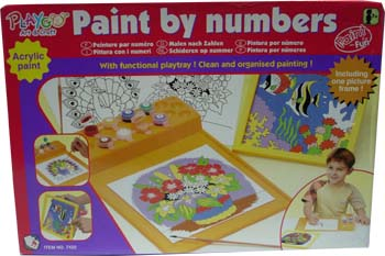 Buy Playgo Paint By Numbers Learning Toy Items On Ebay Philippines